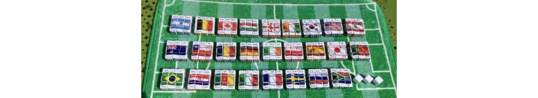 Soccer dice game Collector nations