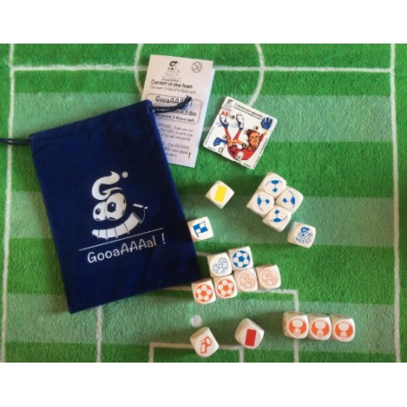 Soccer dice game GooaAAAal TRAINER Pack